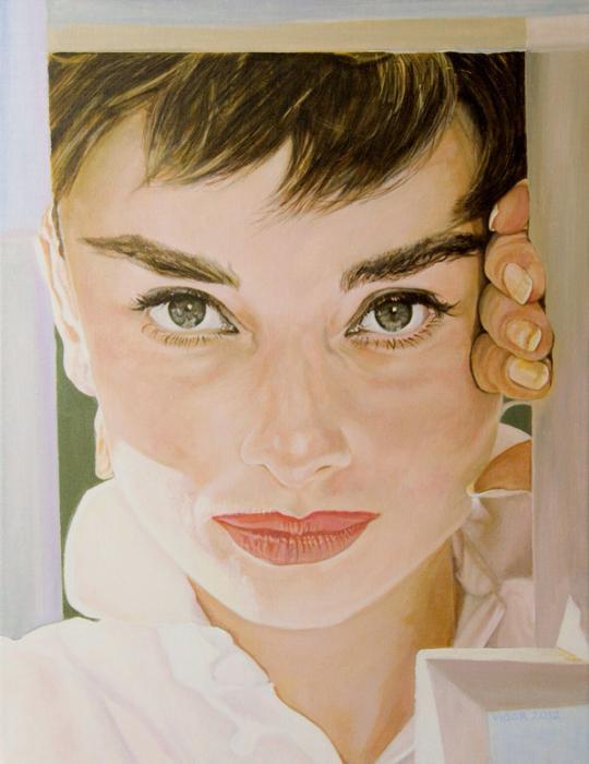 Audrey Hepburn by DavidVigor